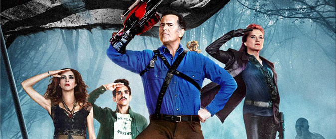 Lionsgate and Starz set Ash vs Evil Dead: Season Two for Blu-ray and DVD release on 8/22