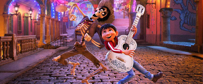 Disney & Pixar set the CG-animated Coco for release on Blu-ray, DVD, and 4K Ultra HD on 2/27