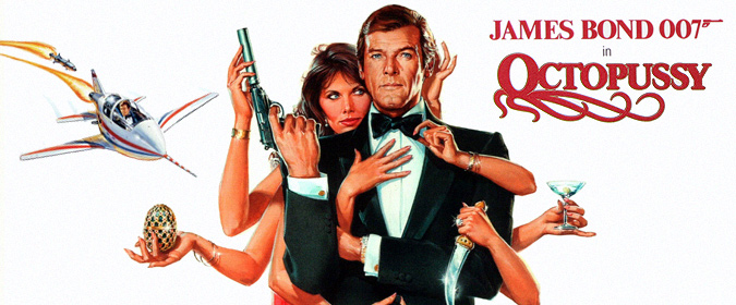 Michael Coate celebrates the 35th anniversary of the James Bond film Octopussy in History, Legacy & Showmanship