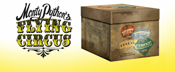 Network reveals its Monty Python's Flying Circus: The Norwegian Blu-ray Edition (due October 7)!