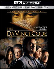 The Da Vinci Code (4K Ultra HD Blu-ray)