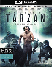 The Legend of Tarzan (4K Ultra HD Blu-ray)