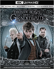 Fantastic Beasts: The Crimes of Grindelwald (Blu-ray Disc)