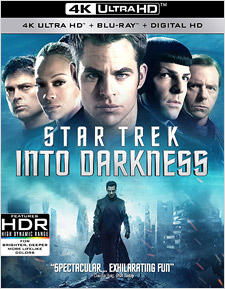 Star Trek Into Darkness (4K Ultra HD Blu-ray)