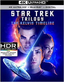 Star Trek Trilogy: The Kelvin Timeline (4K Ultra HD)