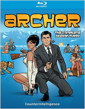 Archer: The Complete Season Three (Blu-ray Disc)