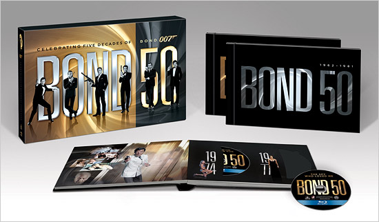 Bond 50 (Blu-ray Disc)