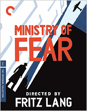Ministry of Fear (Criterion Blu-ray Disc)