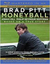 Moneyball (Mastered in 4K Blu-ray Disc)