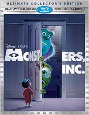 Monsters, Inc 3D (Blu-ray 3D)