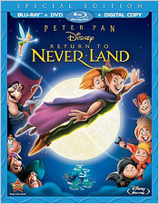 Peter Pan: Return to Neverland (Blu-ray Disc)