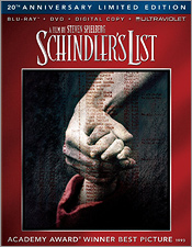 Schindler's List: 20th Anniversary Limited Edition (Blu-ray Disc)