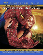 Spider-Man 2 (Mastered in 4K Blu-ray Disc)