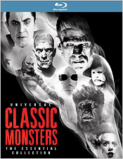 Universal Classic Monsters: The Essential Collection (Blu-ray Disc)