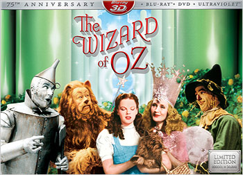The Wizard of Oz: 75th Anniversary Edition: Limited Collector's Edition (Blu-ray 3D)