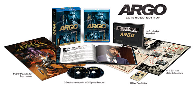 Warner's Argo: Extended Edition (Blu-ray Disc)