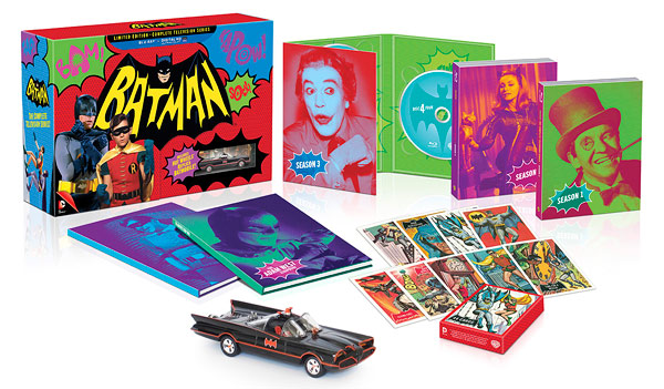 Batman: The Complete Classic Series Limited Edition (Blu-ray Disc)