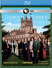 Downton Abbey: Season Four (Blu-ray Disc)