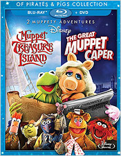 The Great Muppet Caper/Muppet Treasure Island (Blu-ray Disc)