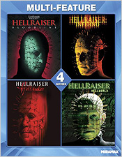The Hellraiser 4-Film Collection (Blu-ray Disc)