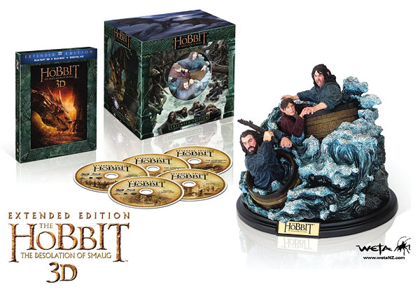 The Hobbit: The Desolation of Smaug - Extended Edition (Blu-ray 3D) Amazon Exclusive