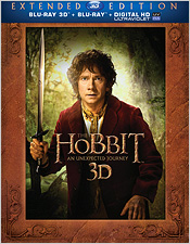 The Hobbit: An Unexpected Journey - Extended Edition (Blu-ray 3D)