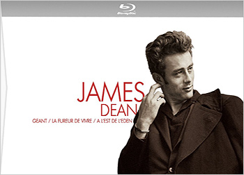 James Dean Blu-ray box set (temp French)