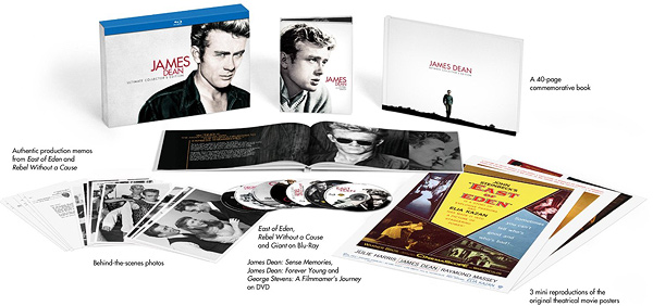 The James Dean: Ultimate Collector's Edition (Blu-ray Disc)