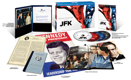JFK: 50 Year Commemorative Ultimate Edition (Blu-ray Disc)