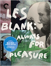 Les Blank: Always for Pleasure (Criterion Blu-ray Disc)