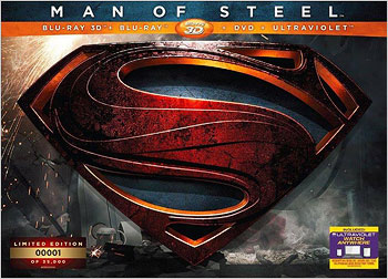 Man of Steel: Limited Edition (Blu-ray 3D)