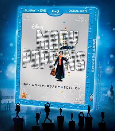 Mary Poppins: 50th Anniversary Edition (Blu-ray Disc)