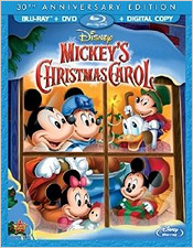 Mickey's Christmas Carol: 30th Anniversary Edition (Blu-ray Disc)
