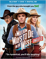 A Million Ways to Die in the West (Blu-ray Disc)