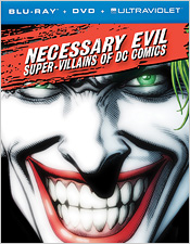 Necessary Evil: The Villains of DC Comics (Blu-ray Disc)