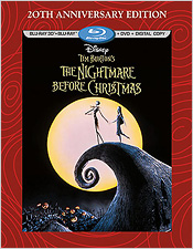 The Nightmare Before Christmas: 20th Anniversary Edition (Blu-ray 3D)