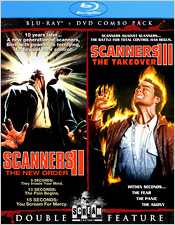 Scanners II/Scanners III (Blu-ray Disc)