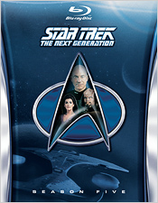 Star Trek: The Next Generation - Season Five (Blu-ray Disc)