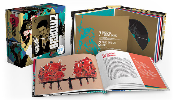 Zatoichi: The Blind Swordsman (Criterion Blu-ray Disc)