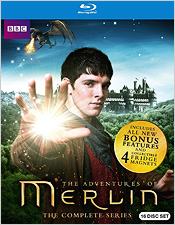 The Adventures of Merlin: The Complete Series (Blu-ray Disc)
