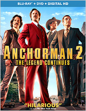 Anchorman 2 (Blu-ray Disc)