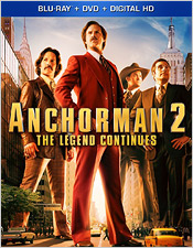 Anchorman 2: The Legend Continues (Blu-ray Disc)