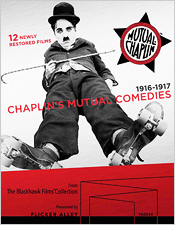 Chaplin's Mutual Comedies (Blu-ray/DVD box set)