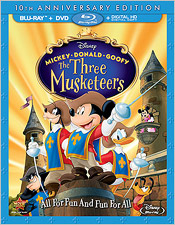 Disney's The Three Musketeers (Blu-ray Disc)