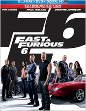 Fast & Furious 6 (Steelbook Blu-ray Disc)