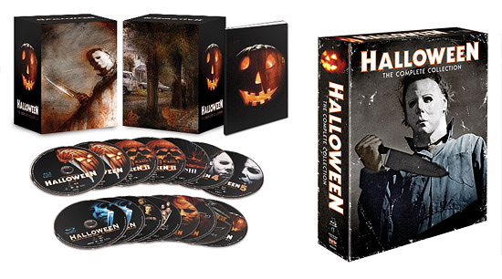 Halloween: The Complete Collection (Blu-ray Disc)
