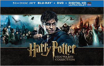 The Harry Potter Hogwarts Collection (Blu-ray Box)