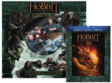 The Hobbit: The Desolation of Smaug - Extended Edition with Statue (Blu-ray 3D)