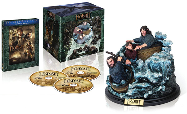 The Hobbit: The Desolation of Smaug - Extended Edition with Status (Blu-ray Disc)