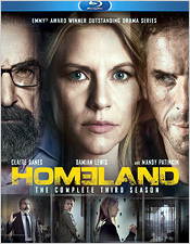 Homeland: The Complete Third Season (Blu-ray Disc)